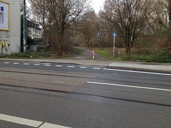 Querung der Hafenstraße