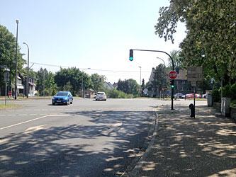 An der Kreuzung